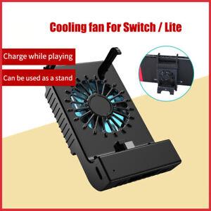 Cooling Fan Radiator Bracket Base Charging Stand For Nintendo Switch/Lite Host
