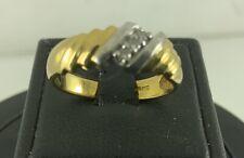 18 CARAT GOLD AND DIAMOND RING
