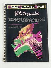 Guitar Superstar Series Whitesnake Arranged by Jesse Gress Super-Tab Notation