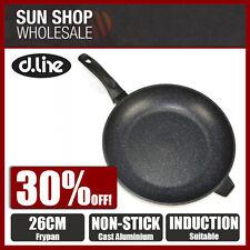 100% Genuine! D.LINE Integra 26cm Cast Aluminium Non-stick Frypan! RRP $59.95!