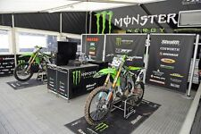 NEW DRT EX-TEAM 2015 MONSTER ENERGY FACTORY MOTOCROSS MX GARAGE TRACK PIT MAT