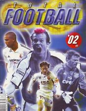 RARE COMPLETE ALBUM WITH ALL -3 STICKERS TOTAL FOOTBAL 2002/03 NO PANINI LUXOR