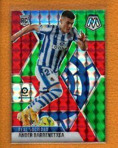 Ander Barrenetxea 2020-21 Mosaic La Liga Rookie Choice Red & Green Prizm RC #52