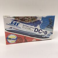 Hasegawa 1:200 Scale McDonnell Douglas DC-9 SAS Scandinavian Airlines Plane SEE