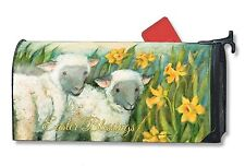 Easter Blessings Magnetic Mailbox Cover Cross Religious MailWraps Standard