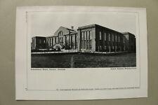 BB3) Architektur Nowawes 1925 Seidenweberei Michels H. Muthesius Rückansicht