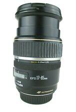 Canon 17-85mm Camera Lens F 4-5.6 EF-S Zoom Japan Ultrasonic Image stabilizer