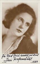 Leni Riefenstahl Original Signed Ross AK 80er