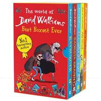The World of David Walliams Best Box Set Ever Children Kids Collection 5 Books