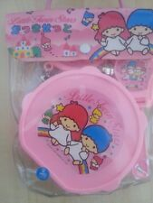 Sanrio Little Twin Stars Vintage Musical set with tambourine Bells Castanets