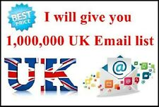 One Million Business Database Email List for Marketing UK & USA Targeted Email