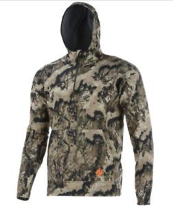 Nomad Mast Hoodie Elevated Whitetail Veil Camo N1300027 951 Hunting Jacket $120