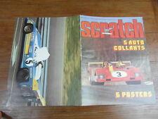 Rare revue SCRATCH FORMULE 1 SPORT AUTOMOBILE No 5 Juin 1973