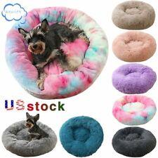 "16''-47""Pe t Dog Cat Bed Fluffy Soft Plush Puppy Warm Sleeping Mat Kennel Nest Us"