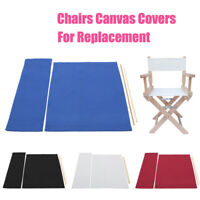Casual Directors Chairs Cover Replacement Canvas Seat Covers Set Outdoor Garden