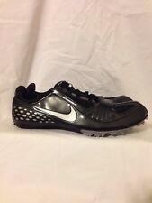 Nike Zoom Rival S Size 11 Black & Gray w/ tool & spike bits