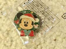 Mickey Wreath 25 Tokyo Disney Trading Pin Tdr 67048 2008 Christmas