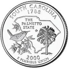 2000 P South Carolina State Quarter ***  #115 • Buy 6 Get 40/% Off • BU