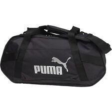 Puma Mens Active Training Small Duffle Bag Black New