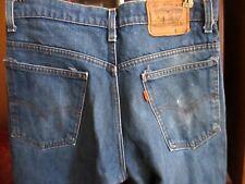 31x32 Fit True Vtg 80s Levis 517 Mens ORANGE TAB Bootcut Raw Denim Jeans USA