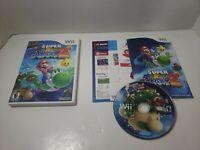 Super Mario Galaxy 2 (Nintendo Wii, 2010) cib complete game Free Shipping!