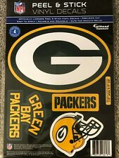 Green Bay Packers Helmet Fathead Teammate 4 Wall Decal 7.5x7.5