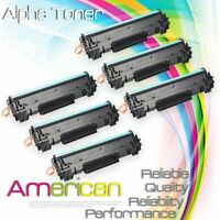 6 Pack Compatible CF248A 48A Toner Cartridge for HP Laserjet M15 M15w M28a M28w