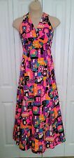 Vintage 60s COCO California PSYCHEDELIC Sundress