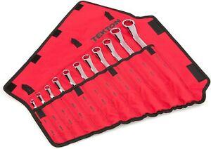 Tekton WBE24511 11 Pc 45-Degree Offset Box End Wrench Set