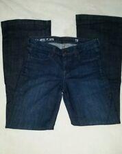 J Crew High Heel Flare Dark Wash Stretch Womens Jeans Size 28 Waist