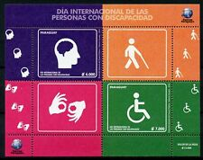 Paraguay 2018 MNH Intl Day of Disabled Persons Disabilities 2v M/S Health Stamps