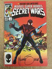 SECRET WARS #1 2015 HeroesCon Variant by Mike Zeck & John Beatty SIGNED BY ZECK