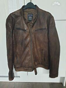 Brown Leather JACKET Medium Size Aviatrix
