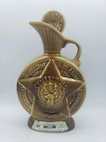 Vintage Jim Beam Decanter Liquor Bottle BPOE Elks Centennial 1868 -1968 Empty