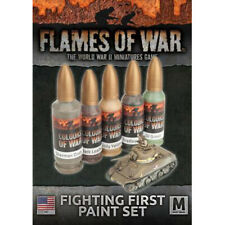 Flames of War: Ww2 - Fighting First Paint Set