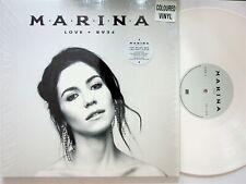 MARINA Love + and Fear 2-LP (2019 BLACK & WHITE VINYL, EX) & The Diamonds Solo