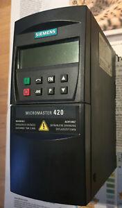Frequenzumrichter   Siemens Micromaster 420    1,1kW