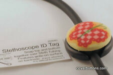 Stethoscope ID Blanks - Use alone or with Button for decorations Bag of 25 pcs