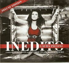 Laura Pausini - Inedito (Deluxe Italian & Spanish Versions) 2CD 2011 NEW/SEALED