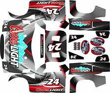LOSI 5T GRAFIL RED ARMOR Theme  body wrap decals stickers skins BIGFLEX