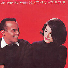 HARRY BELAFONTE NANA MOUSKOURI CD AN EVENING WITH  IMPORT GERMANY