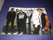 The Wanted Complete Hand Signed 8x10 Autographed Photo Autographed W/COA Max