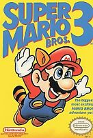 Super Mario Bros. 3, NES (Nintendo Entertainment System, 1990)  Authentic-Tested