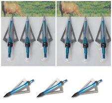 Broadheads Pacco di 15 balestra freccia e Frecce ARCHERY Testa Bulloni 100grain