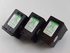 3x Cartouche noir 20ml pour HP Envy e-All-in-One 7640 / 7645
