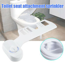 Single Nozzle Bidet Toilet Seat Attachment Non-Electric Mechanical Fresh Durable