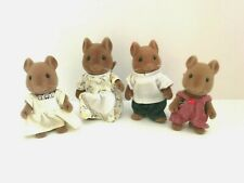 Sylvanian Families Rare Hazelwood Mouse Family