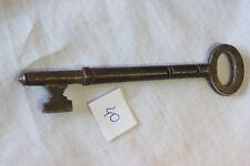 VECCHIA CHIAVE ANTICA IN FERRO L. cm 10 PER MOBILE O CASSETTO  / OLD ENGLISH KEY