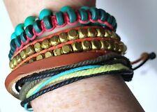 Pack Of 4 Surfers Style / Beaded Bracelets CJB073