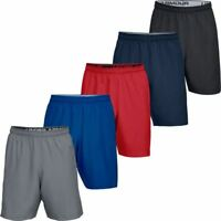 UNDER ARMOUR MENS UA WOVEN GRAPHIC WORDMARK SPORTS FITNESS GYM SHORTS